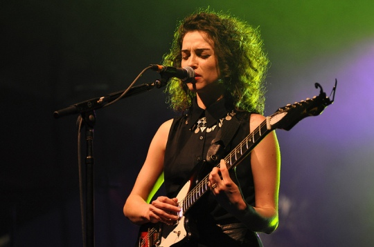 St. Vincent, Coachella 2012. Image by Jason Persse
