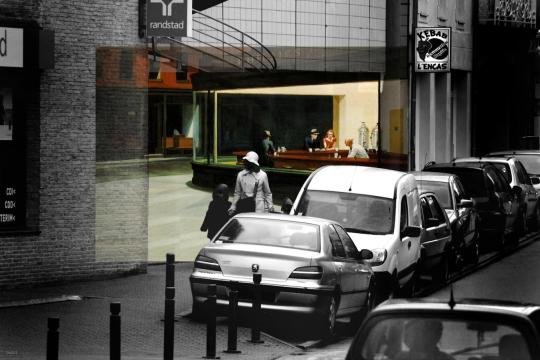 Hommage-Edward Hopper