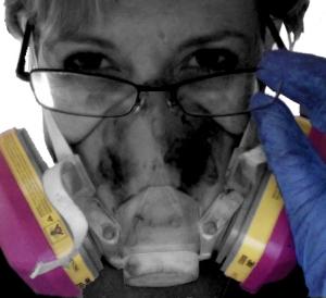 Seana Reilly & her respirator
