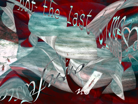 not the last time no by Melissa D Johnston