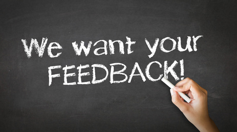 We want your feedback fotolia