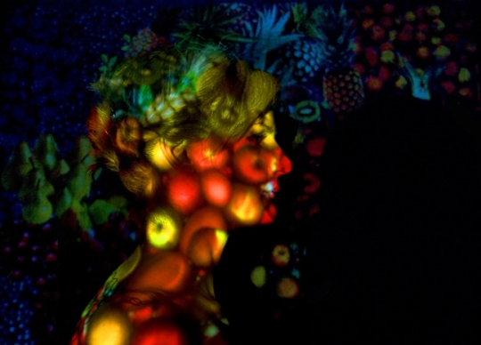 """After Arcimboldo 3,"" C-Print"