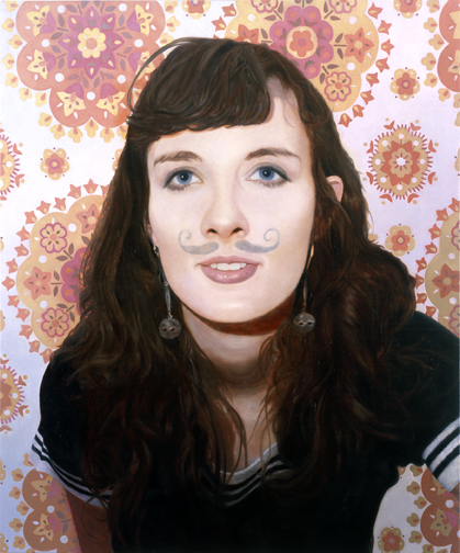 """Allison,"" Oil on Linen on Panel"