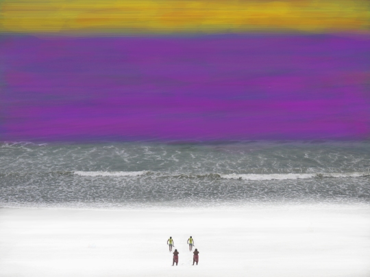 rothko experiment mother and child two for CT