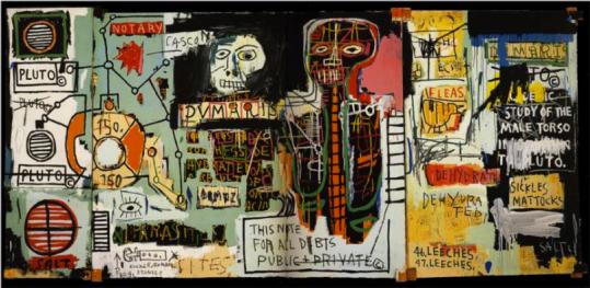 Jean Michel-Basquiat notary 1983 http://uploads7.wikipaintings.org/images/jean-michel-basquiat/notary.jpg!Large.jpg