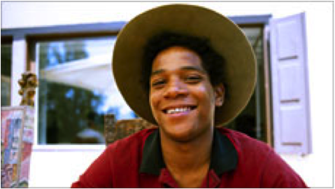 Jean-Michel Basquiat  . http://www.pbs.org/independentlens/jean-michel-basquiat/film.html