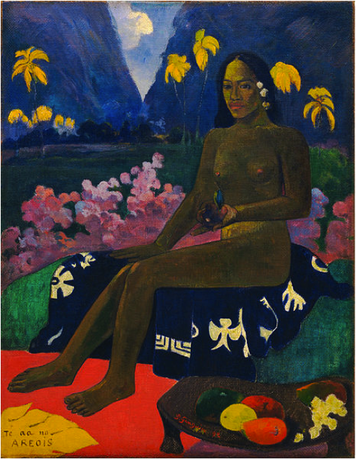 Paul Gauguin, Te aa no areois (The Seed of the Areoi),1892, The Museum of Modern Arthttp://en.wikipedia.org/wiki/Paul_Gauguin