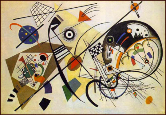 Wassily Kandinsky, Transverse Line, 1923 http://sites.duke.edu/artsvis54_01_f2010/category/keywords/