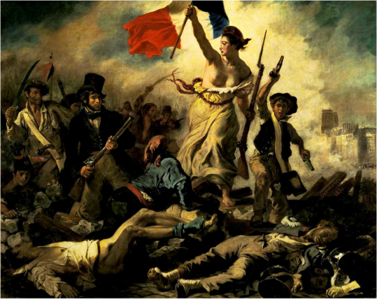 Liberty leading the people | Eugène Delacroix | 1830 http://silverandexact.files.wordpress.com/2012/02/liberty-leading-the-people-eugc3a8ne-delacroix-1830.jpg