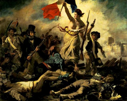 Liberty leading the people | Eugène Delacroix | 1830 http://silverandexact.files.wordpress.com/2012/02/liberty-leading-the-people-eugc3a8ne-delacroix-1830.jpg