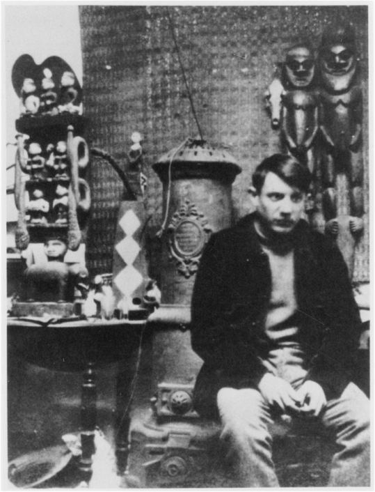 Picasso in his studio https://uncrated.files.wordpress.com/2012/06/2.jpg