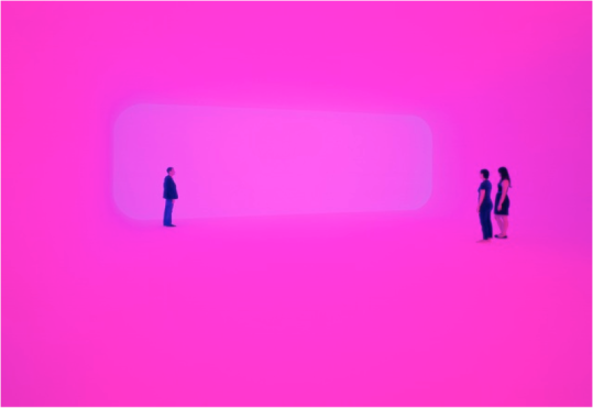 James Turrell Breathing Light, 2013. LED light into space, Dimensions variable. http://www.pacegallery.com/artists/473/james-turrell