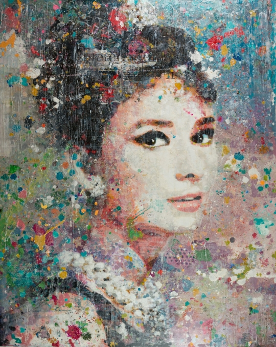 Miss Golightly II 60x48
