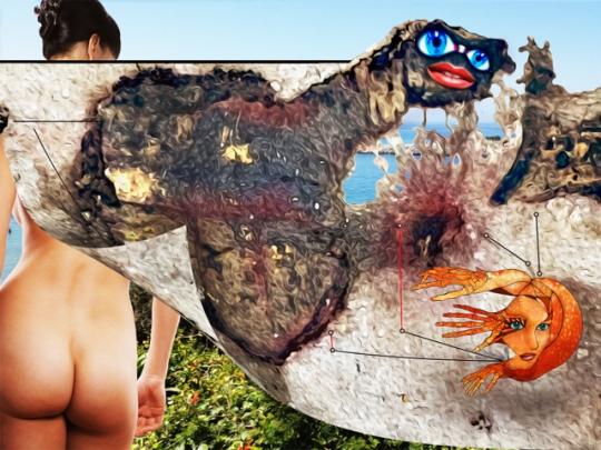Artsexcreations-Dat Betch Got Crabs 100