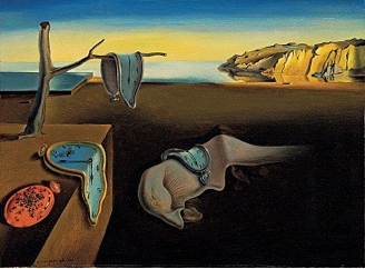 Salvador Dali https://upload.wikimedia.org/wikipedia/en/d/dd/The_Persistence_of_Memory.jpg