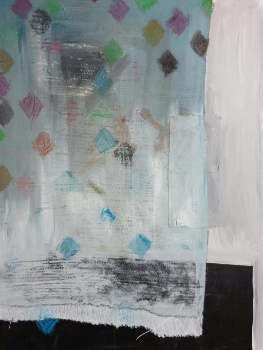 Cover/Veil (Blue), 30 X 40