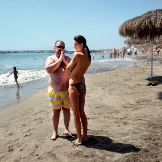 Beach confession