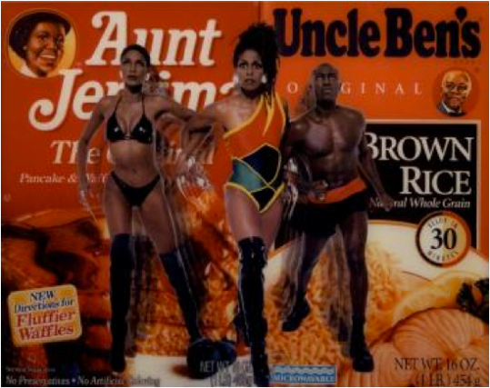 Renee Cox Liberation of Aunt Jemima and Uncle Ben http://artinfo-images-350.s3.amazonaws.com/asi2-85688/233.jpg