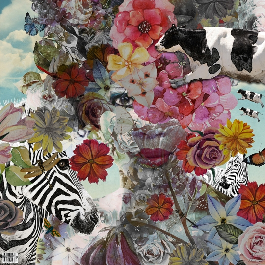 Flora and Fauna is a surrealistic artwork by artist Nola Lee Kelsey. Flora and Fauna is considered part of Kelsey's surreal poortrait series.