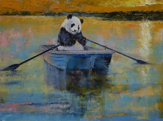 Panda Reflections