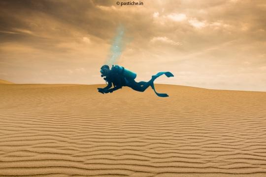 Desert divers