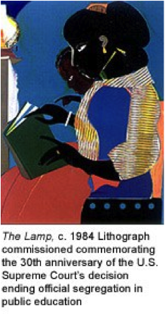 The Lamp, by Romare Bearden