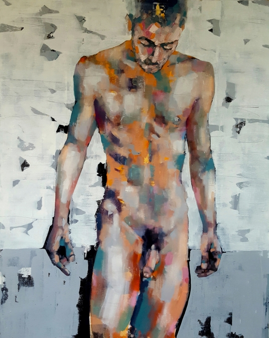thomas-donaldson-4-standing-figure-oil-on-canvas-100x80cm